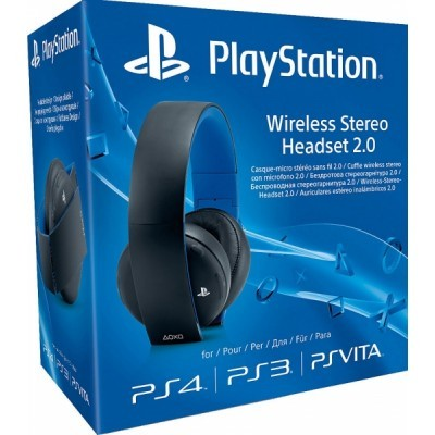 PS4 - Wireless Stereo Headset 2.0 - BLACK