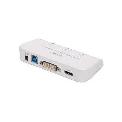 i-tec USB3.0 DVI/VGA/HDMI Dual Display Adapter