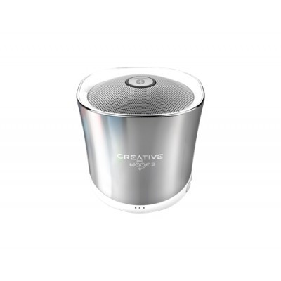 Speaker CREATIVE WOOF3, Bluetooth,winter chrome