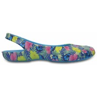 Crocs Olivia II Graphic Flat