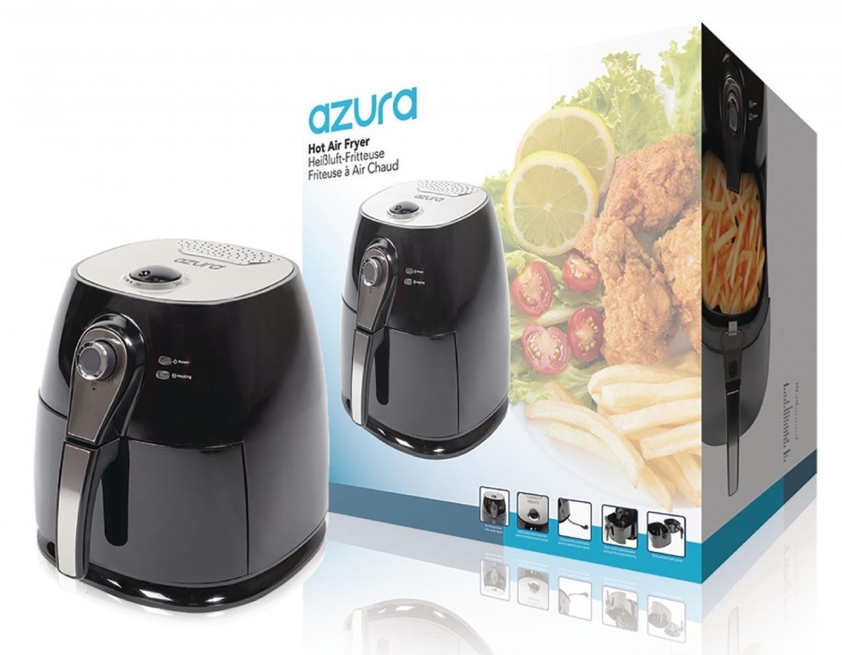 df94636a0 Horkovzdušná fritéza Azura AZ-AF10, 3 l, 1400 W - černá