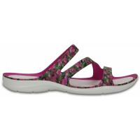 Crocs Swiftwater Graphic Sandal Women