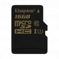 16GB microSDHC UHS-I Kingston 90R/45W class 10