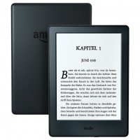 "AMAZON NEW KINDLE 8 TOUCH, 6"" E-ink displej, WIFi, Sponzorovaný, černý"