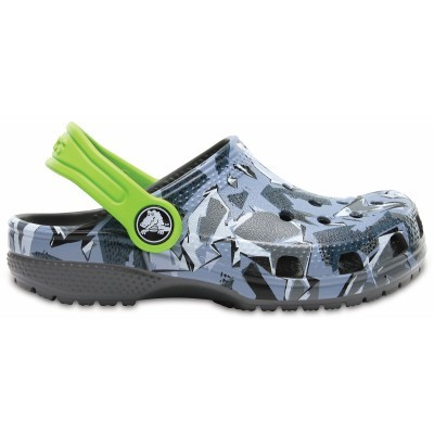 Crocs Classic Graphic Clog Kids - Camouflage, J1 (32-33)
