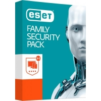 ESET Family Security Pack - 3 lic., na 1 rok - Krabice