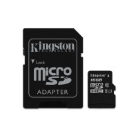 16GB microSDHC Kingston UHS-I Industrial Temp + SD adapter
