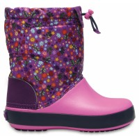 Crocs Crocband LodgePoint Graphic Boot Kids