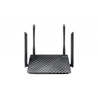 WiFi router Asus RT-AC1200 AP/router, 4x LAN, 1x WAN, 1x USB/ 300Mbps 2,4/ 867Mbps 5GHz