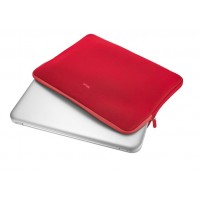 "TRUST Primo Soft Sleeve for 15.6"" laptops - red"