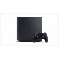 PS4 - Playstation 4 500GB E black slim