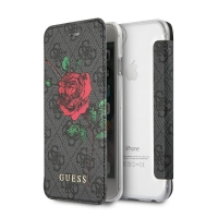 Pouzdro Guess 4G Flower Desire Book GUFLBKP74GROG pro iPhone 7/8