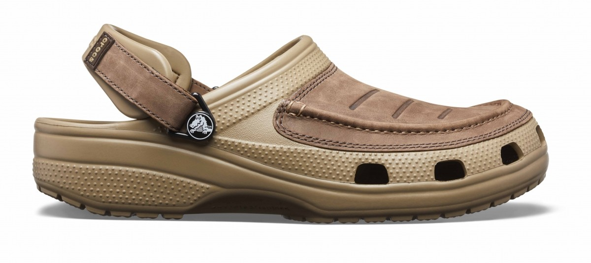 Pánské pantofle (nazouváky) Crocs Yukon Vista Clogs - Espresso Khaki ... ae01df98f09