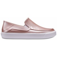 Crocs CitiLane Roka Metallic Slip-Ons Kids