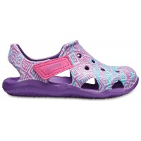 Crocs Swiftwater Wave Graphic Kids