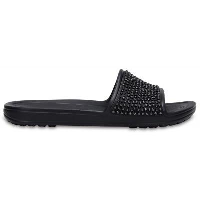 Dámské nazouváky (pantofle) Crocs Sloane Embellished Slide