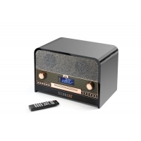 Retro Bluetooth stereo rádio Technaxx TX-102 DAB+/FM s CD přehrávačem, AUX-IN/USB