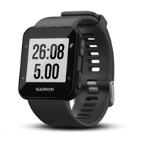 Garmin GPS sportovní hodinky Forerunner 30 Gray Optic 7e1966157ff