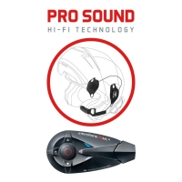 Bluetooth handsfree pro přilby SCHUBERT CellularLine Interphone F5MC