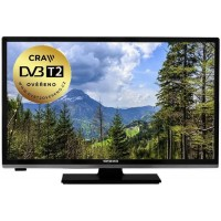 "24"" LED TV Orava LT-632 LED A140C, DVB-T/T2/C"