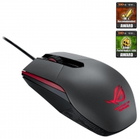 BUNDLE X_PLAY_ ASUS myš ROG Sica black Gaming mouse + cerberus pad