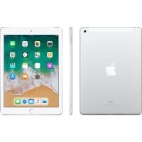 Apple iPad wi-fi + 4G 128GB Silver (2018)