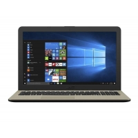 "Trhák ASUS X540NA-GO086T Pentium N4200/8GB/1TB 5400ot./DVD-R/Intel HD Graphic 505/15,6""1366x768 HD/Lesklý/BT/W10 Home/Black"