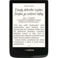 E-book POCKETBOOK 627 Touch Lux 4, Obsidian Black