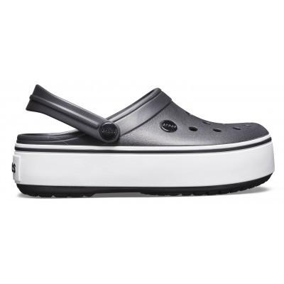 Dámské nazouváky (pantofle) na vysoké platformě Crocs Crocband Platform Clog