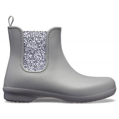 Dámské holínky (gumáky) Crocs Freesail Chelsea Boot Women Dots