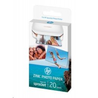 HP ZINK Sticky-backed Photo Paper-50 sht/5 x 7.6 cm