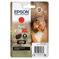 Epson Singlepack Red 478XL Claria Photo HD Ink