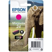 Epson Singlepack Magenta 24 Claria Photo HD Ink - Originál