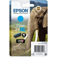 Epson Singlepack Cyan 24XL Claria Photo HD Ink - Originál