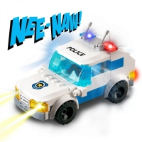 LIGHT STAX HYBRID Flashing Police Car