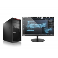 Lenovo ThinkStation P520c TWR/W-2123/16GB/256SSD/DVD/W10P + monitor X24-20 ZDARMA