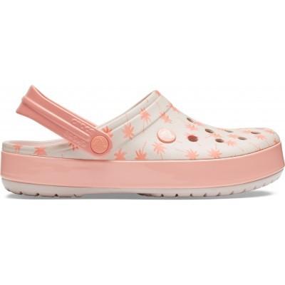 Dámské nazouváky (pantofle) Crocs Crocband Seasonal Graphic Clog Palm