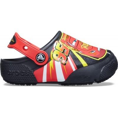 Dětské nazouváky (pantofle) Crocs Fun Lab Lightning McQueen Lights Clog