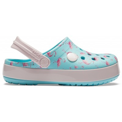 Dětské nazouváky (pantofle) Crocs Crocband Multi-Graphic Clog Kids