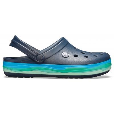 Dámské nazouváky (pantofle) Crocs Crocband Wavy Band Clog