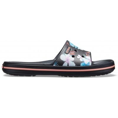 Dámské nazouváky (pantofle) Crocs Crocband III Seasonal Graphic Slide Floral