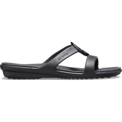 Dámské sandály Crocs Sanrah MetalBlock Sandal