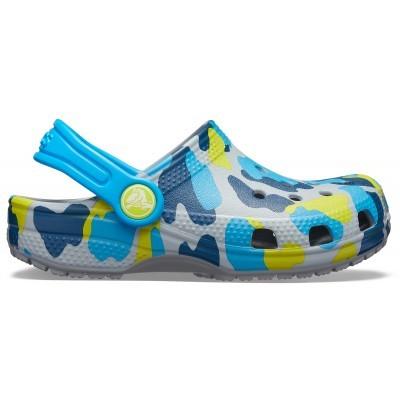 Dětské nazouváky (pantofle) Crocs Classic Seasonal Graphic Kids