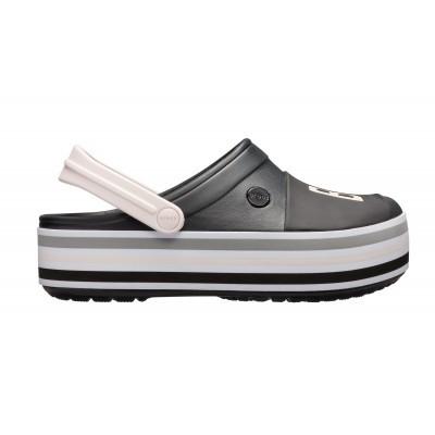 Dámské nazouváky (pantofle) Crocs Crocband Bold Color Platform Clog Black