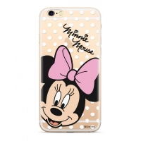Disney Minnie 008 Back Cover pro iPhone X/Xs Transparent