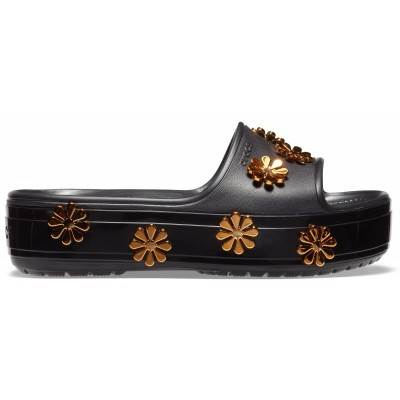 Dámské nazouváky (pantofle) Crocs Crocband Bold Color Platform Clog Melon