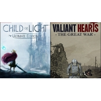 PC - Child of Light + Valiant Hearts