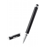 TRUST Stylus and Ballpoint Pen - black