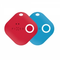 Key finder FIXED Smile s motion senzorem, DUO PACK - červený + modrý