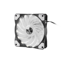Ventilátor Genesis Hydrion 120, bíle LED, 120mm